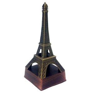 Μεταλλική μινιατούρα και ξύστρα πύργος του Άιφελ μπρονζέ