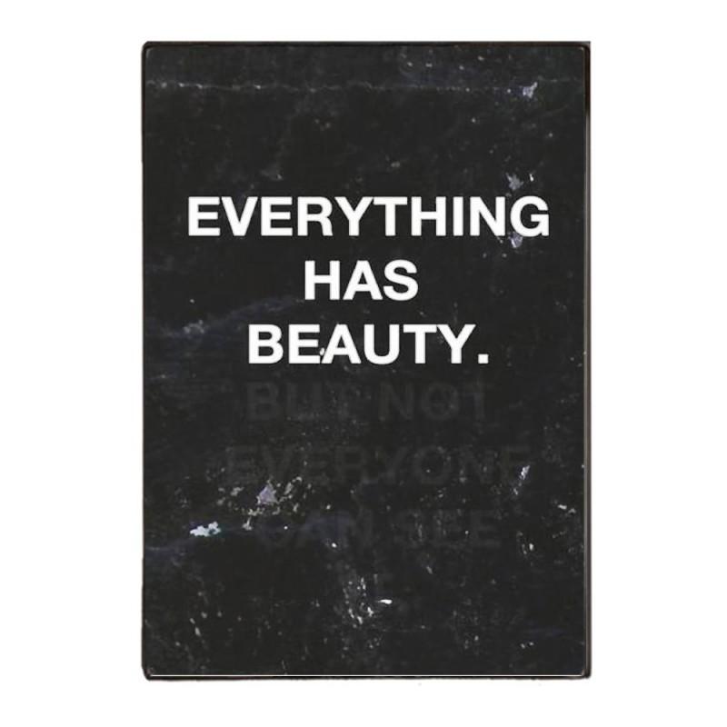 Beauty In Everything - Retro Ξύλινος  Πίνακας 20 x 30 cm