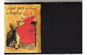 Belle - Χειροποίητος Μαυροπίνακας 20X30 εκατοστά