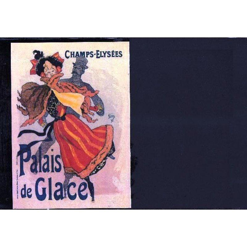 Champs Elysees - Χειροποίητος Μαυροπίνακας 20X30 εκατοστά