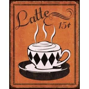 Coffee Latte - Πίνακας Χειροποίητος 2304