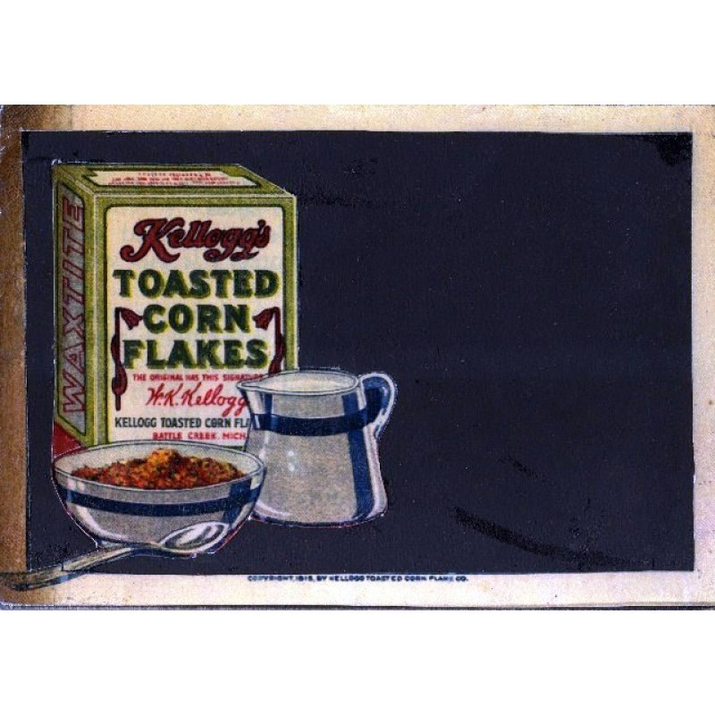 Corn Flakes - Χειροποίητος Μαυροπίνακας 20X30 εκατοστά