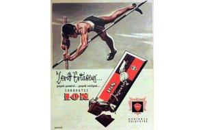 Διαφήμιση ΙΟΝ - Ρετρό Πίνακας Χειροποίητος