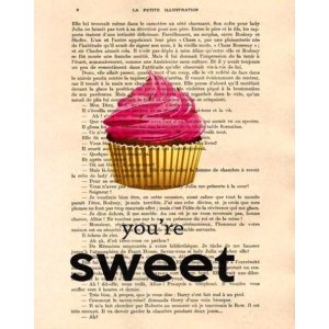 Είσαι γλύκα - Πίνακας Χειροποίητος 2341