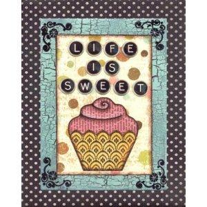 Η ζωή είναι γλυκιά - Πίνακας Χειροποίητος