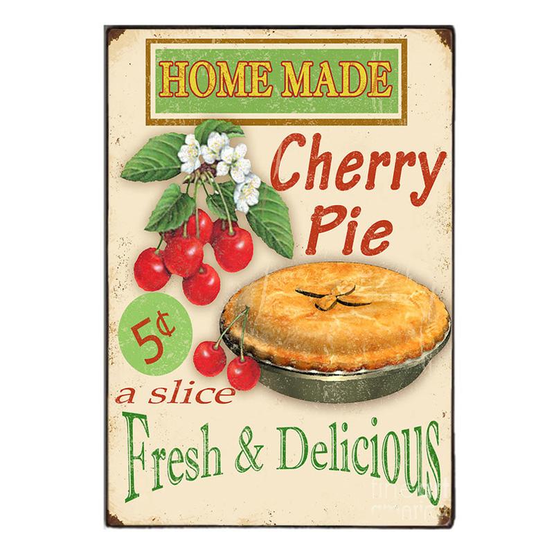 Homemade Pie -Ξύλινος  Πίνακας Χειροποίητος 20 x 30 cm
