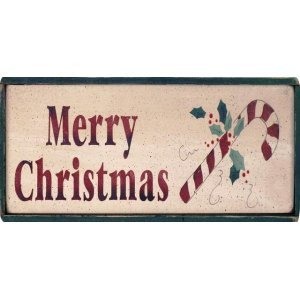 Merry Christmas - Xειροποίητο Χριστουγεννιάτικο ταμπελάκι