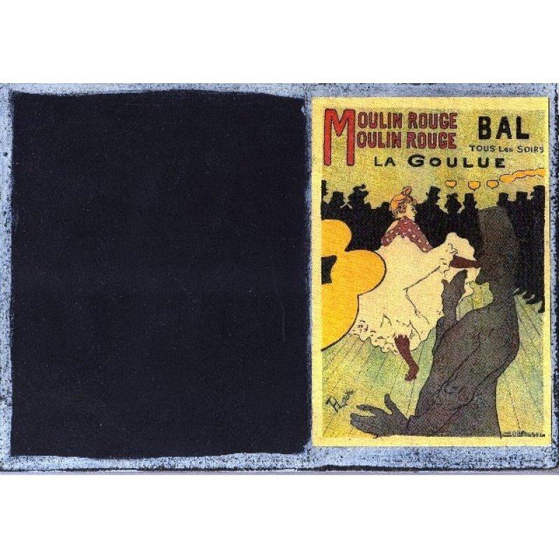Moulin Rouge - Χειροποίητος Μαυροπίνακας 20X30 εκατοστά