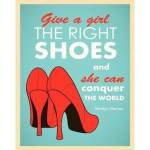 Πίνακας Χειροποίητος The Right Shoes