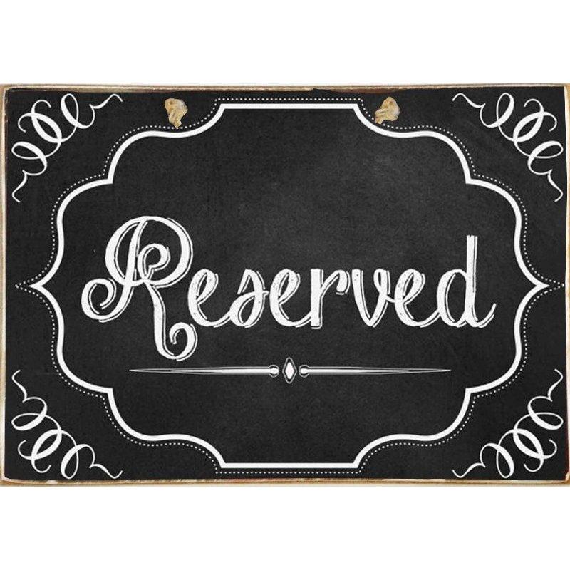 Reserved - Ξύλινος  Πίνακας 20 x 30 cm