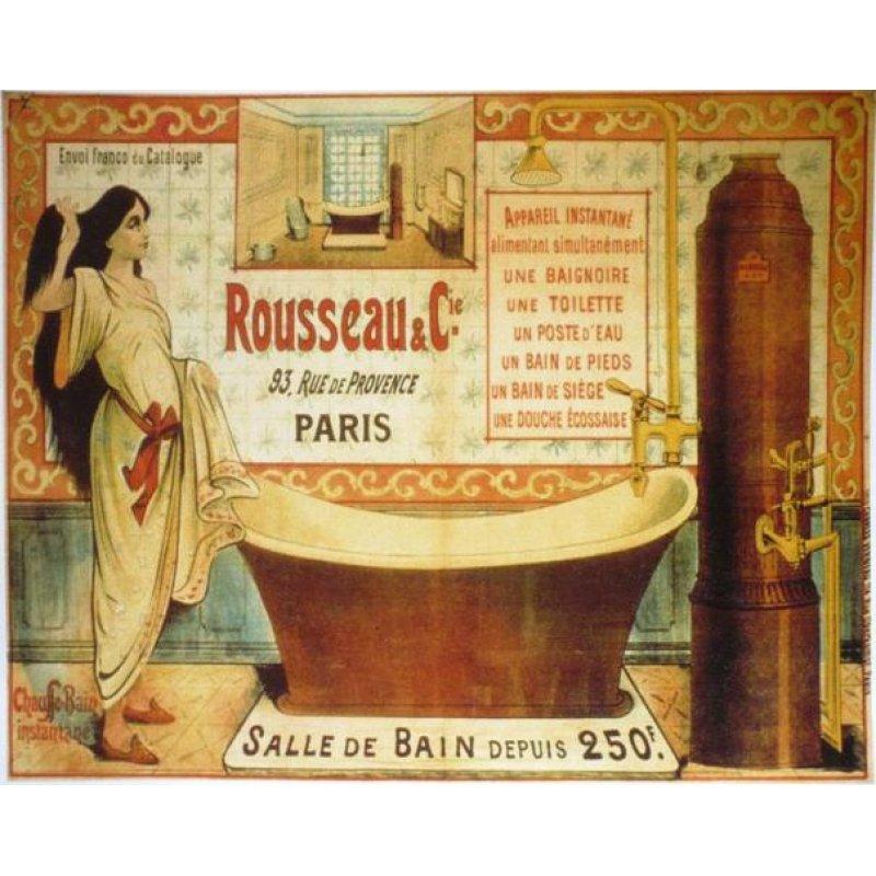 Ρετρό διακοσμητικό πινακάκι με vintage διαφήμιση