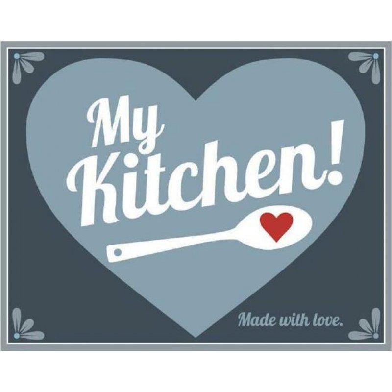 Ρετρό Πίνακας Χειροποίητος 'my kitchen'