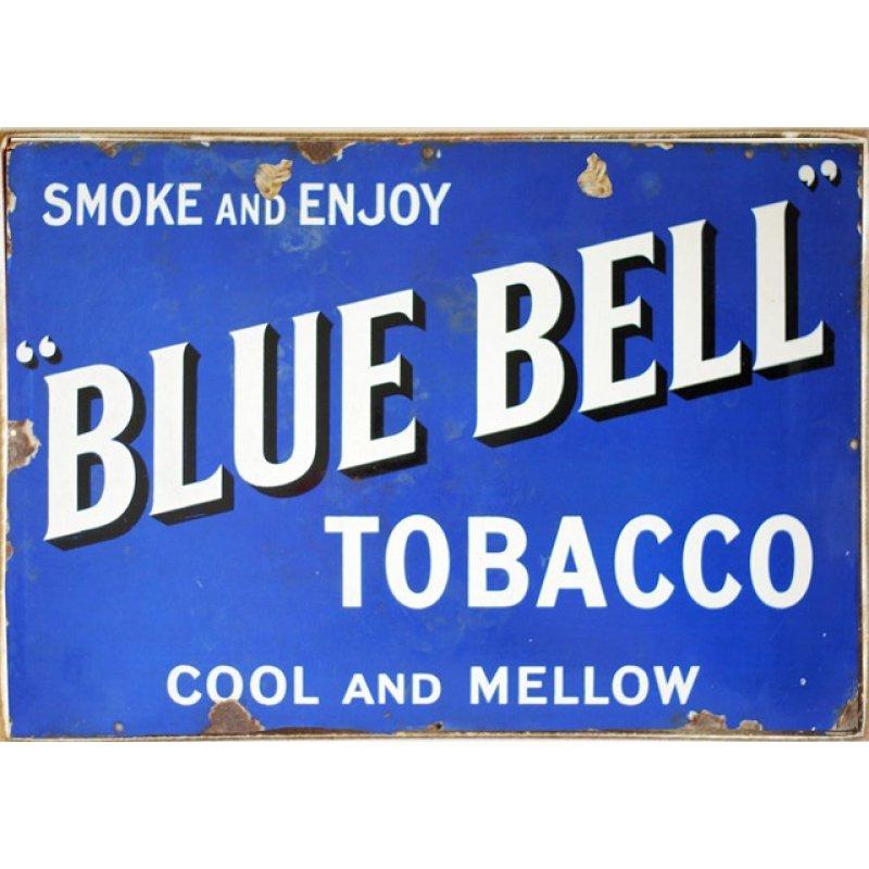 Ρετρό Πίνακας Χειροποίητος Blue Bell 30 x 20 cm