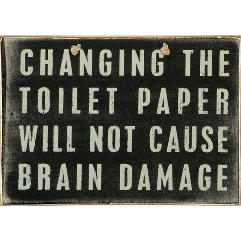 Ρετρό Πίνακας Χειροποίητος Change Paper 30 x 20 cm