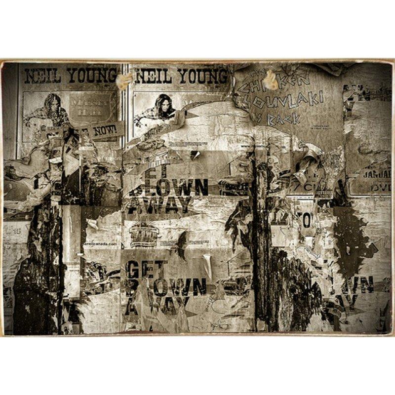 Ρετρό Πίνακας Χειροποίητος Vintage Photos 30 x 20 cm