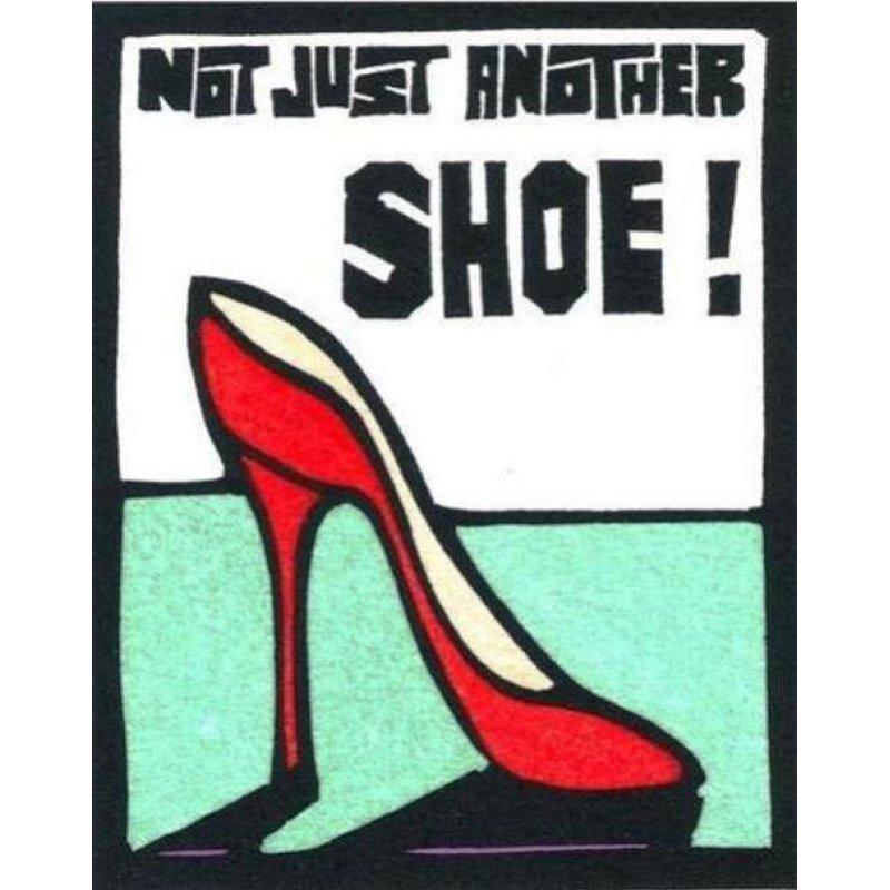 Shoe - Retro Πίνακας Χειροποίητος