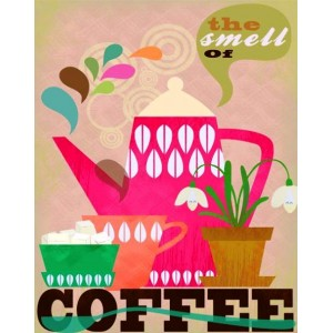 Smell of Coffee - Πίνακας Χειροποίητος 2383