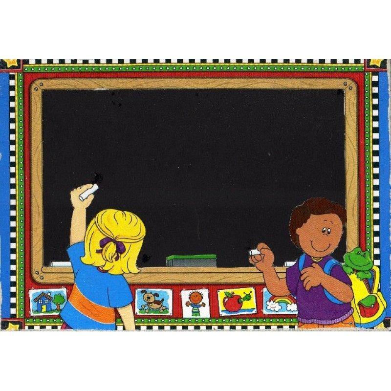 Σχολείο - Χειροποίητος Μαυροπίνακας 20X30 εκατοστά