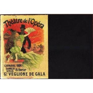 Theatre de l'Opera - Χειροποίητος Μαυροπίνακας 20X30 εκατοστά