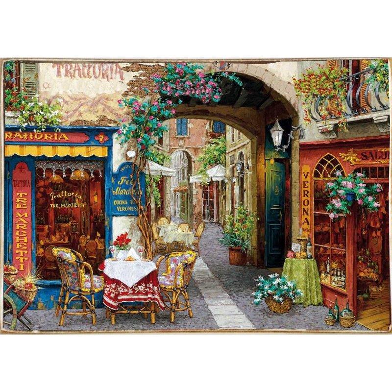 Trattoria Italiana -Ξύλινος  Πίνακας Χειροποίητος 20 x 30 cm