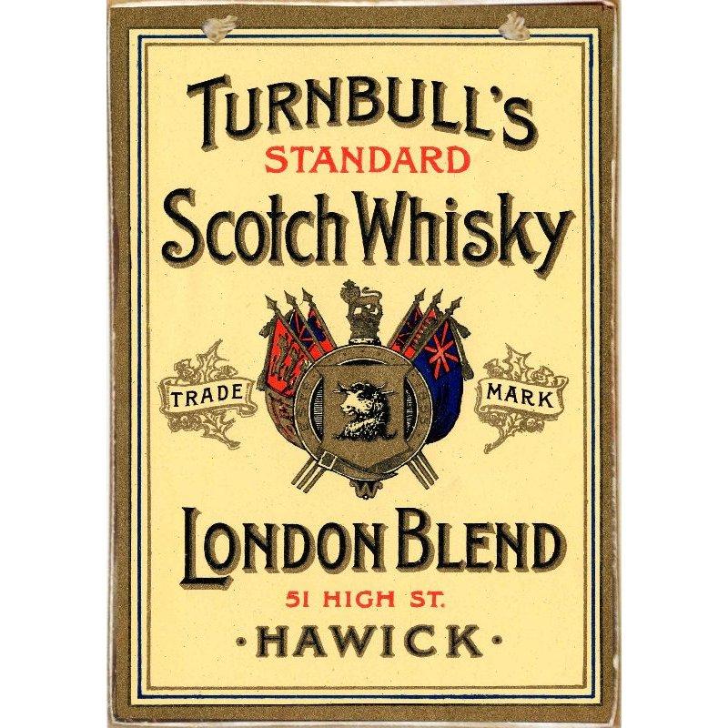 Turnbulls Whiskey -Ξύλινος  Πίνακας Χειροποίητος 20 x 30 cm