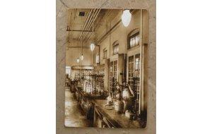 Πίνακας Χειροποίητος  εργαστηριο του 1930 30cm X 20cm  KIR1167