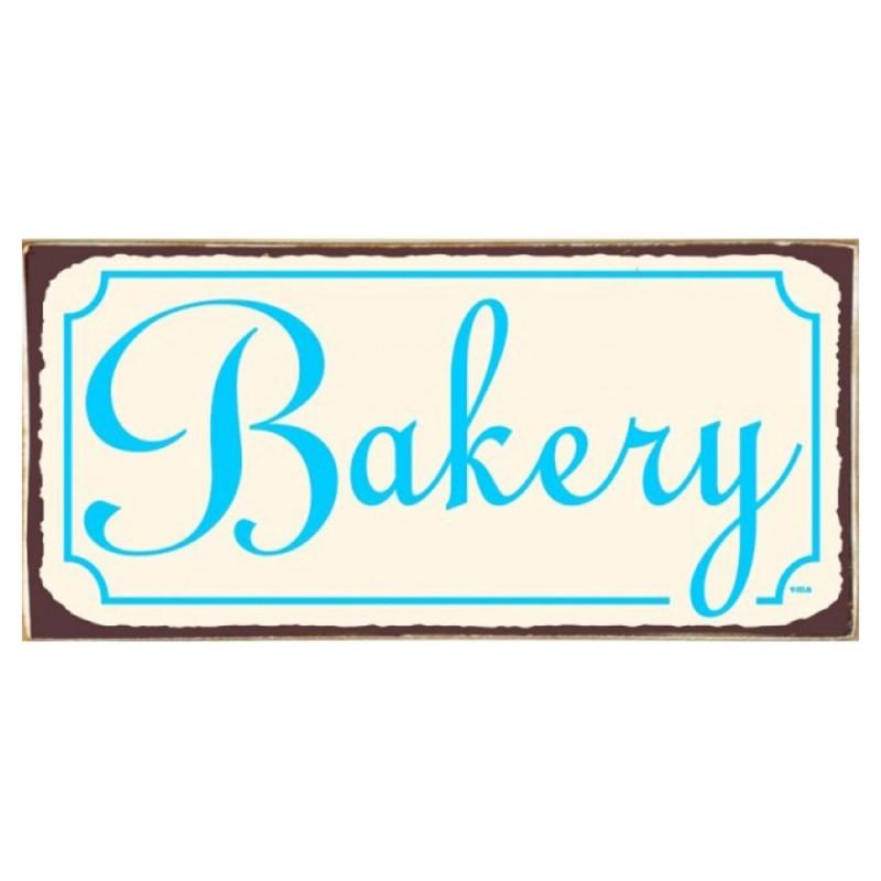 Vintage Πίνακας Χειροποίητος Bakery 13 x 26 cm