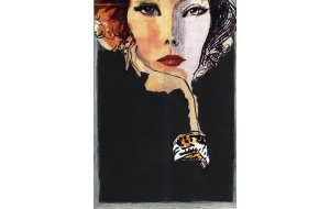 Woman - Χειροποίητος Μαυροπίνακας 20X30 εκατοστά