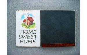 Σπίτι μου σπιτάκι μου - Χειροποίητος Μαυροπίνακα&sigma