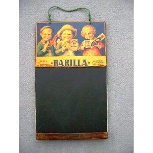 Μακαρόνια Barilla - Χειροποίητος Μαυροπίνακας