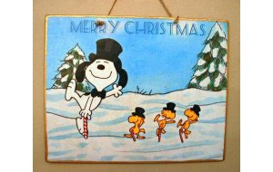 Xειροποίητο Χριστουγεννιάτικο ταμπελάκι  Παιδι&ka