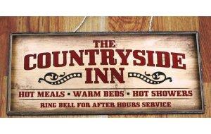 Countryside Inn Vintage Ξύλινος Πίνακας 13 x 26 cm 1922