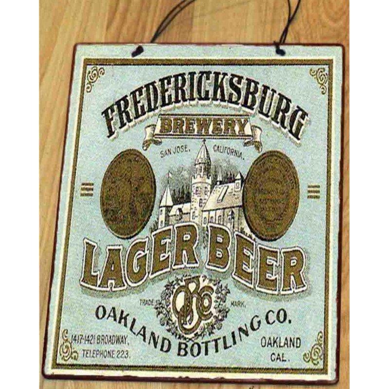 Fredericksburg Vintage Ξύλινος Πίνακας 20x25 cm