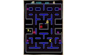 Pacman Ξύλινος Πίνακας 20x30 cm