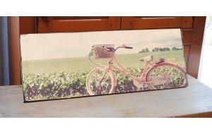Retro Bike Vintage Ξύλινος Πίνακας 13 x 26 cm 1945