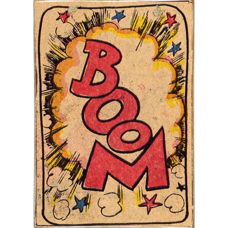 Boom -Retro Ξύλινος  Πίνακας 20 x 30 cm