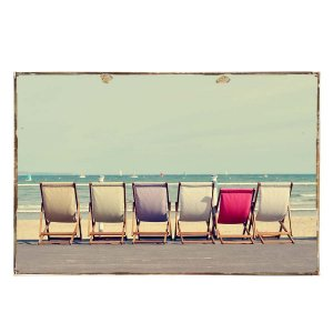 Summer Vintage Ξύλινο Πινακάκι 21 x 30 cm
