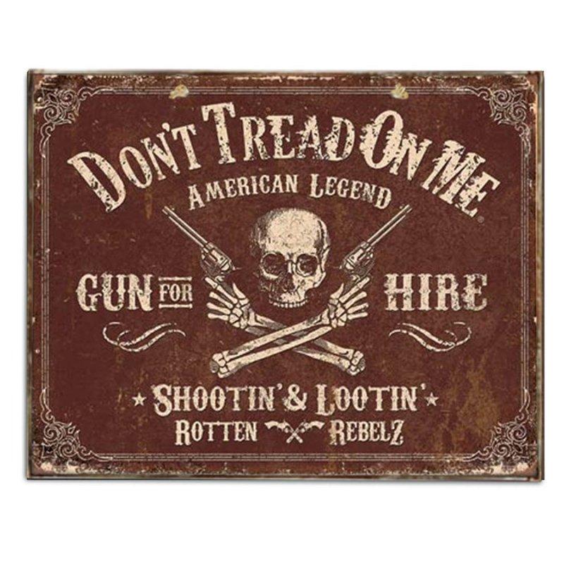 Vintage Χειροποίητο Πινακάκι Αμερικάνικης Διαφήμισης