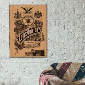Πινακάκι με ρετρό διαφήμιση Εταιρείας μόδας