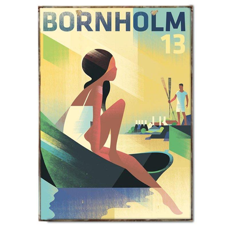Πινακάκι με Travel Poster