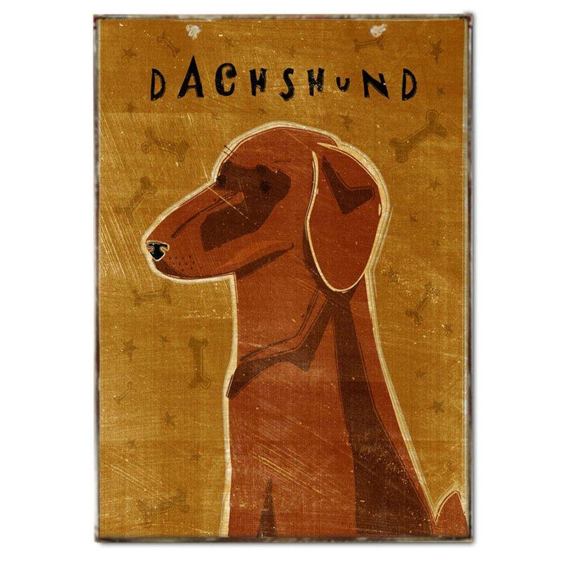 Πινακάκι με Σκυλάκι Ράτσας Dachshund