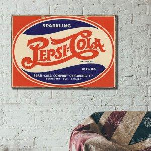 Vintage πίνακας διαφήμιση Αναψυκτικού