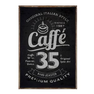 Διακοσμητικό πινακάκι Caffee 35