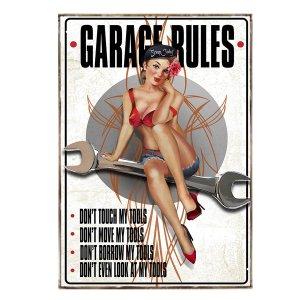 Κανόνες Garaze - Pin up girl