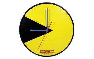 Ξύλινο  Ρολόι PacMan 32Χ32εκ