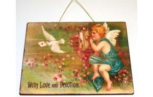 Πίνακας Χειροποίητος με Αγάπη & Ευλάβεια