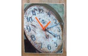 Vintage Wall Clock - Ρολόι τοίχου χειροποίητο