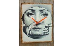 Art -  Ρολόι τοίχου χειροποίητο ξύλινο