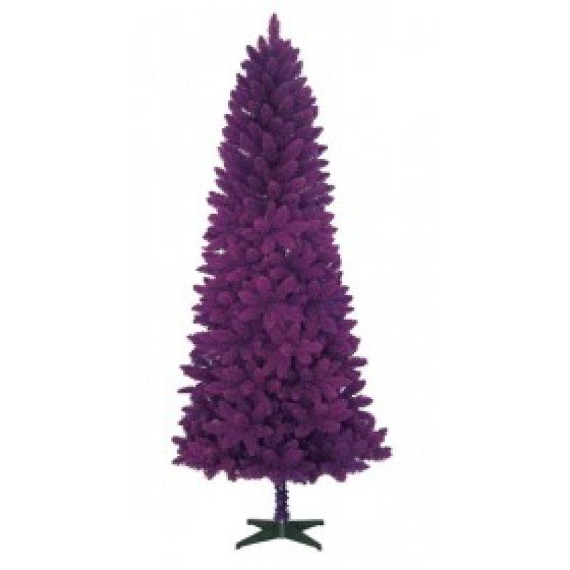 Flocked Violet  Χριστουγεννιάτικο Δέντρο 210cm