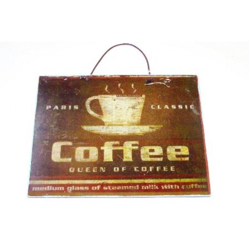 Κλασικός καφές - Πίνακας Χειροποίητος